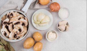 Ingrediente Supă ciuperci