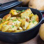 Cartofi țărănești - o garnitură excelentă