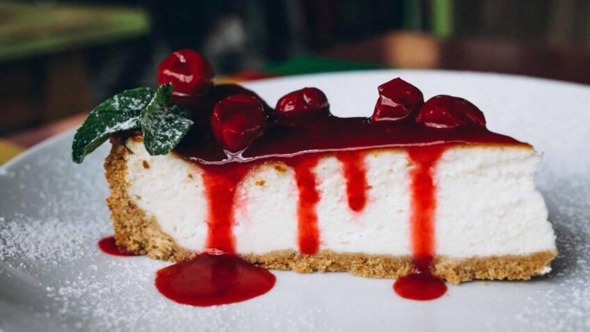 Cheesecake cu cireșe - potrivit pentru vară